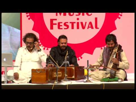Hariharan performing in Indian Music Festival, Nehru Centre