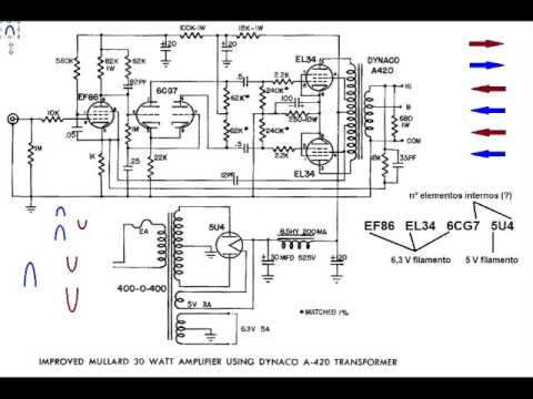 t v circuit diagram