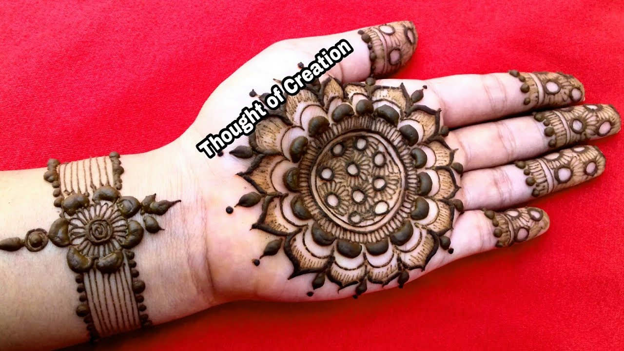 Mandala Henna Designs: Mandala Henna Design 2018
