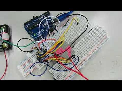 Arduino-控制LED矩陣