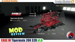 "[""FarmingSimulator19"", ""FS19"", ""FS19ModReview"", ""FS19ModsReview"", ""CASE IH Tigermate 200"", ""Review"", ""BEAST""]"