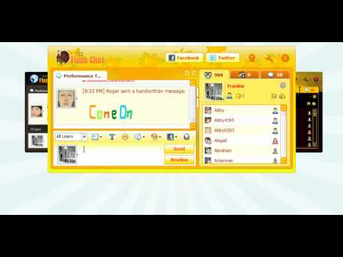 123FlashChat, Skinnable Chat Room Software