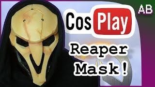 Painting Reaper Mask Cosplay Tutorial - Overwatch Costume thumbnail