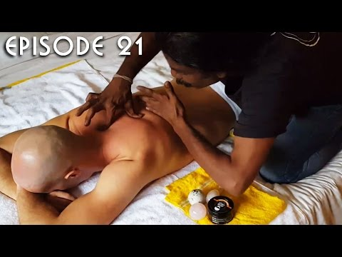 World's Greatest Head Massage 45 Back Shoulder and Leg Stones Massage - Baba the Cosmic ASMR Barber