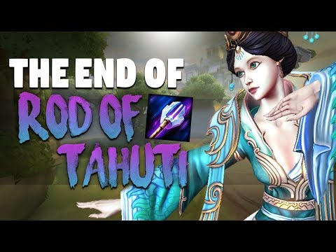 SMITE: The End Of Rod Of Tahuti?