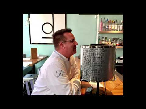 Chef Keegan Gerhard train message