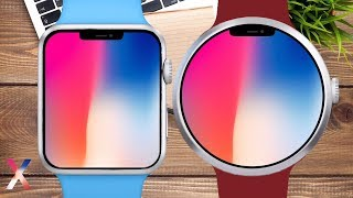 Apple Watch Series 4 - Leaked, Rumors & Concept - Circle Apple Watch Design