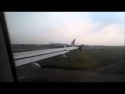 GoAir Take Off from Indira Gandhi International Airport, Delhi