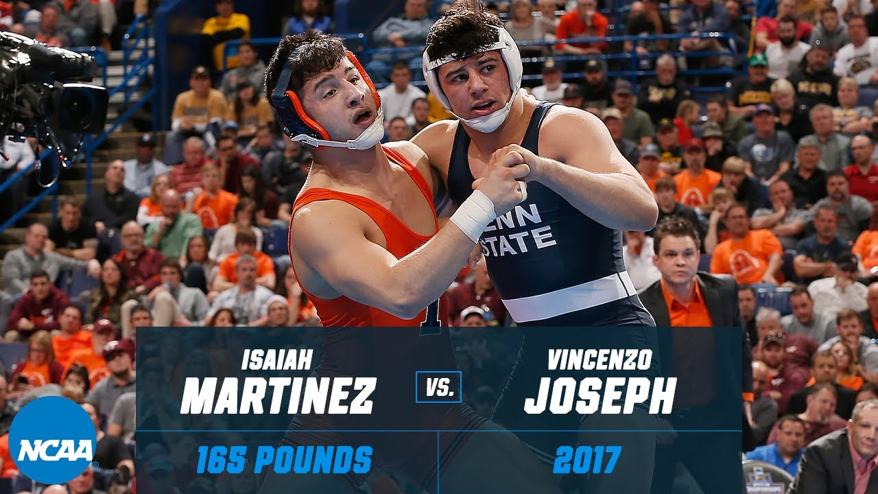 Vincenzo Joseph vs. Isaiah Martinez: 2017 NCAA title match (165 lbs.)