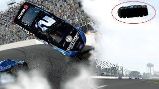 BIGGEST FLIP EVER!?!?!?   Forza Motorsport 7   NASCAR