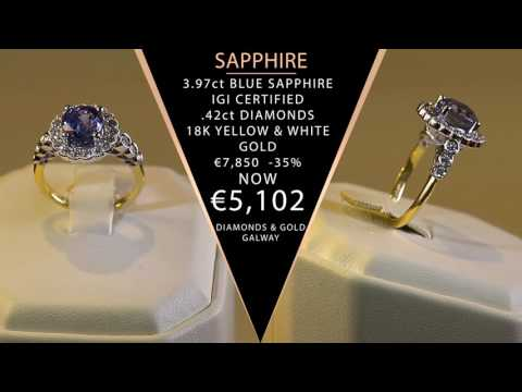 The Sapphire Collection, Diamonds & Gold Galway