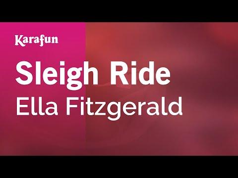 Karaoke Sleigh Ride - Ella Fitzgerald *