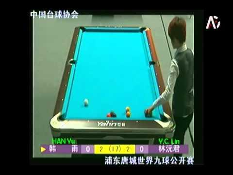 2015 China Open - Han Yu 韓雨 vs Y.C. Lin 林沅君