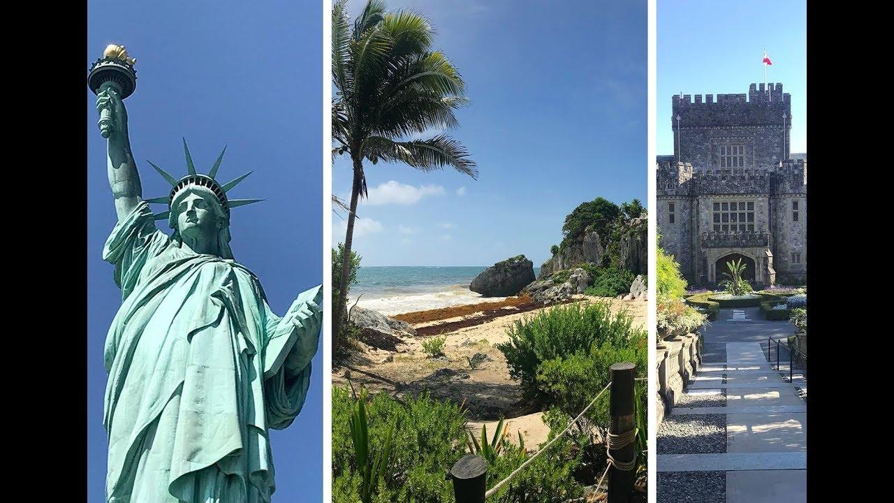 Pocztówka z wakacji: Nowy Jork, Meksyk i Kanada [Sony FDR-AX53] 4K
