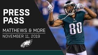 "Jordan Matthews ""I Love Playing in the City of Philadelphia""   Eagles Press Pass"
