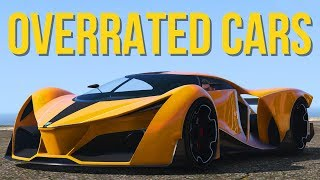 GTA 5 ONLINE - TOP 5 MOST OVERRATED CARS IN GTA 5 ONLINE! (GTA V)