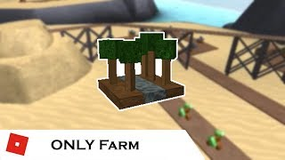 How far can You go with ONLY Farm? | Tower Battles [ROBLOX]
