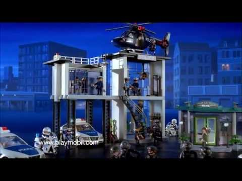 playmobil le commissariat de police franais youtube
