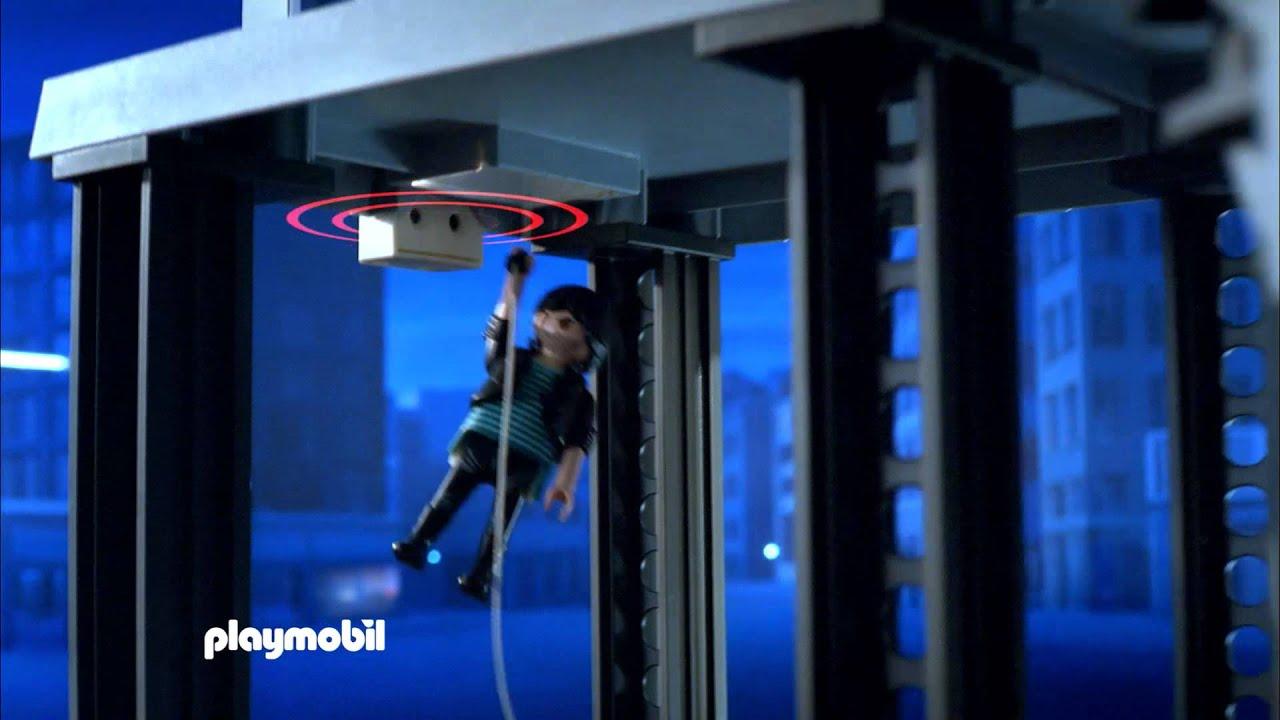 Playmobil commissariat avec syst me d 39 alarme 5182 au - Caserne de police playmobil ...