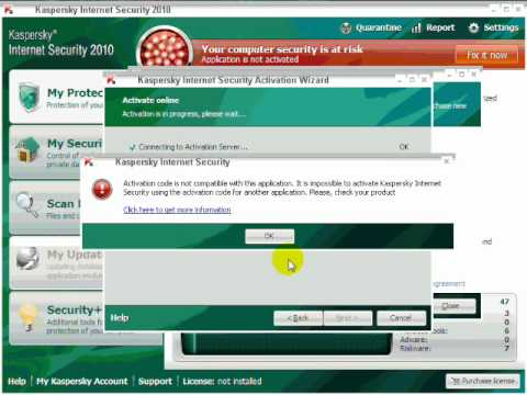kaspersky internet security 2010 free download full version with activation code