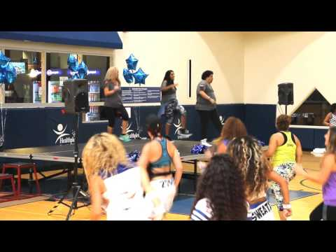ZUMBATHON FOR TESSA INDIANAPOLIS COLTS CHEERLEADER
