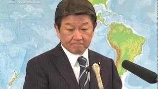 茂木外務大臣会見(令和元年10月29日)