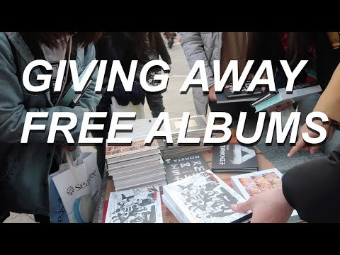 GIVING AWAY 300 FREE KPOP ALBUMS IN SEOUL!