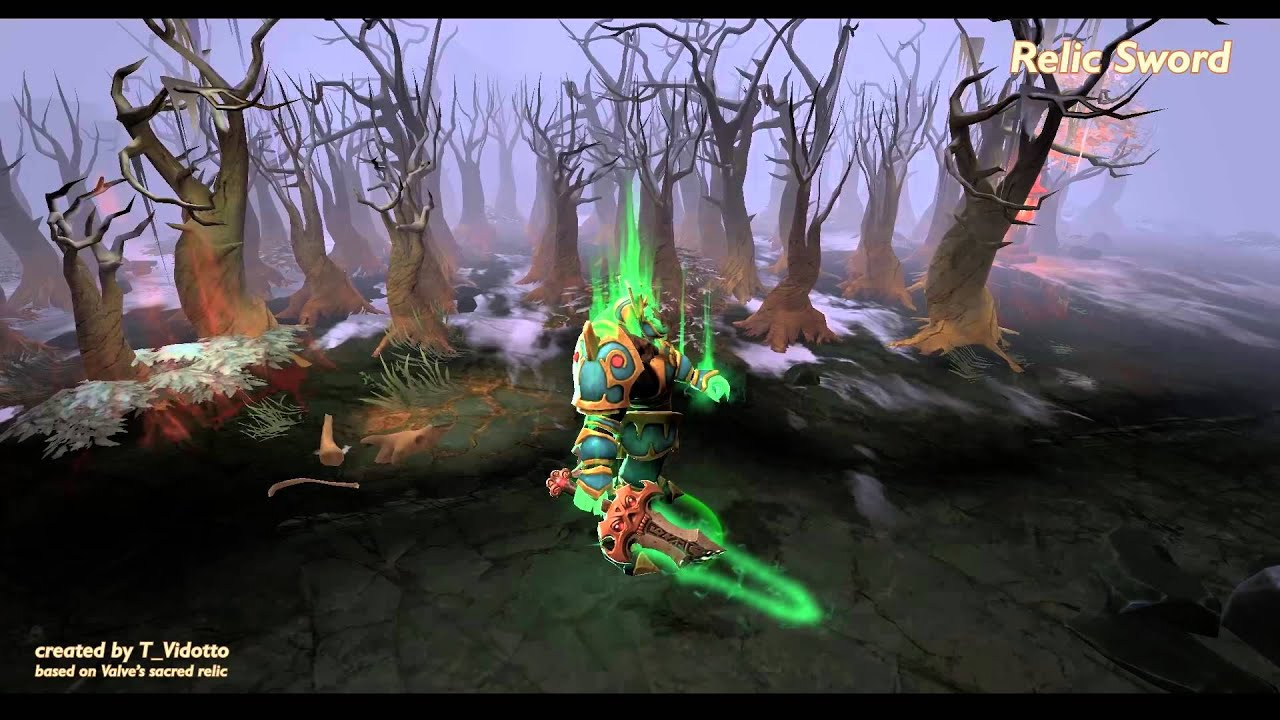 Relic Sword For Wraith King Dota 2 Workshop YouTube