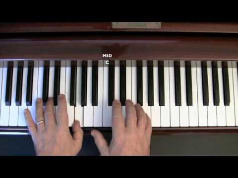 Jingle Bells - Easy piano lesson (Part 1)