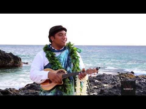 Kaniala Kekauoha Masoe Performing White Sandy Beach @ Makena Cove Maui