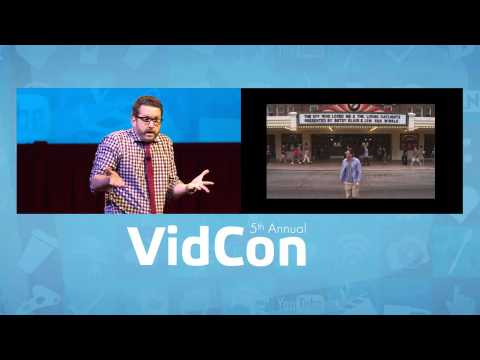 Burnie Burns Industry Keynote (VidCon 2014)