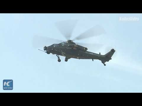 China unveils its first unmanned attack helicopter