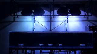 Rotating Metal Halide Lights And Canopy Lift