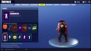 Fortnite random videos #1 Every skin i got doing the reanimated dance