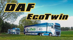 Parempaa kuljetustehokkuutta - DAF EcoTwin -kuorma-autojen letka-ajo
