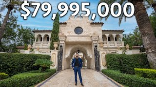Touring a $79,995,000 Oceanfront Florida MEGA MANSION