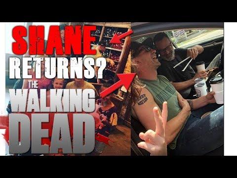Jon Bernthal Spotted on set of The Walking Dead Season 9 - Will Shane Return?