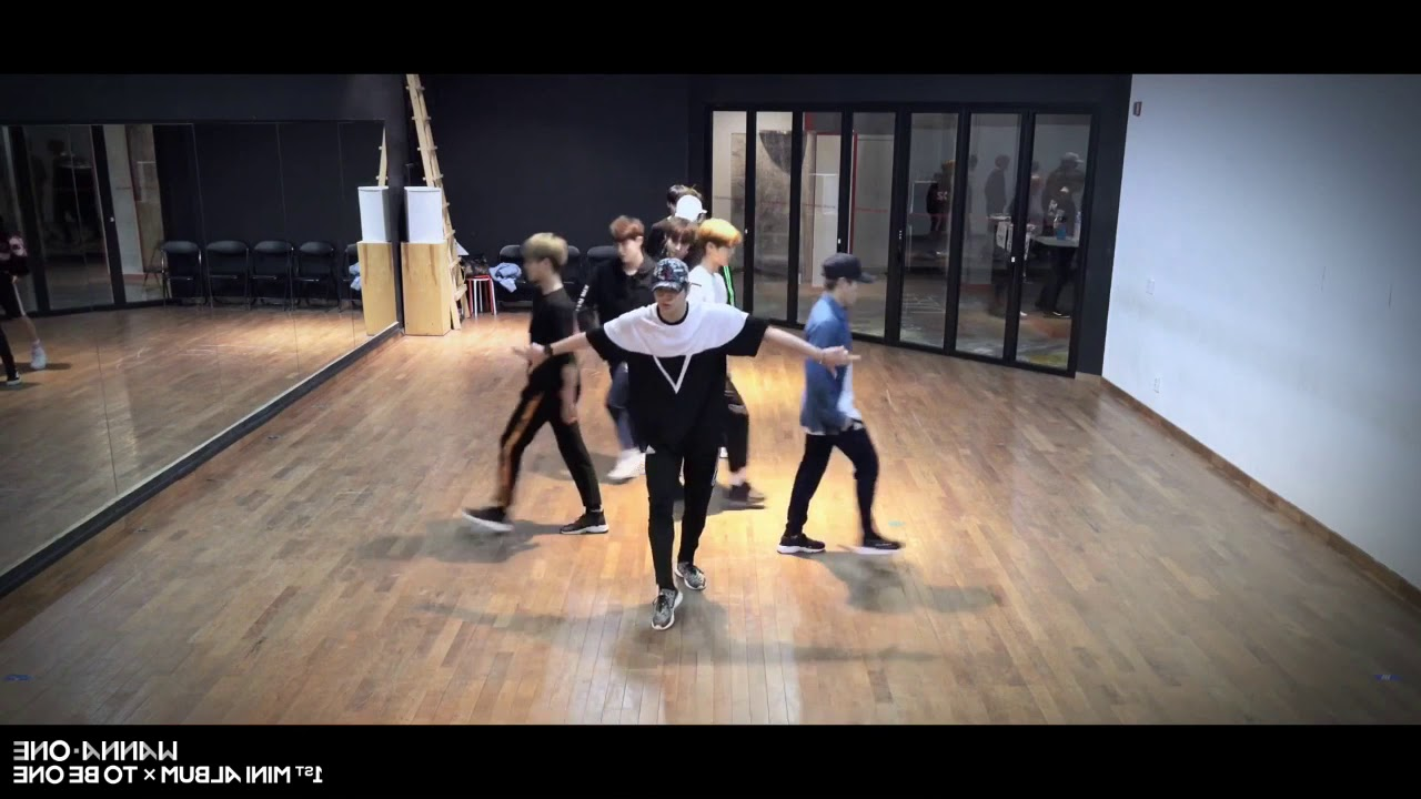 [mirrored & 50% slowed] Wanna One - ENERGETIC Practice Ver.