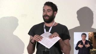 Silence making sound | Deaf Theatre of Greece | Vasilis Vilaras | TEDxSparta