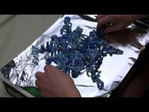 How To Stiffen Crochet Snowflakes by Snowcatcher