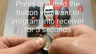 how to program bft mitto b rcb 2 b rcb 4 kleio b rca 02 b rca 04