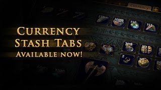 Video Path of Exile - Currency Stash Tab download MP3, 3GP, MP4, WEBM, AVI, FLV April 2018