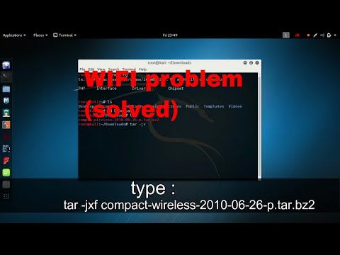 How To Fix Wifi Problem In Kali Linux |2017| (wireless Problem Solved)