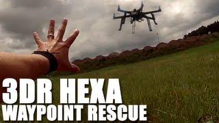 Flite Test - ArduCopter 3DR Hexa Waypoin...