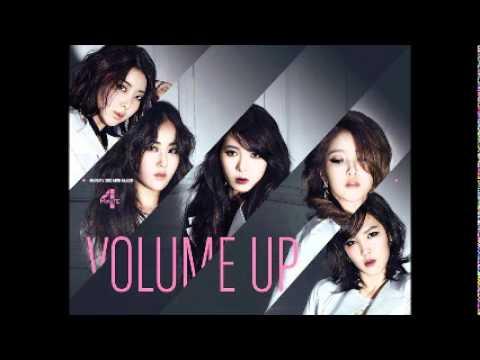 4Minute - Volume Up [MR] (Instrumental)