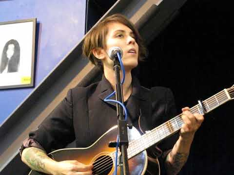 4/5 Tegan & Sara - Sara's Fine(ish) + Call It Off @ Amoeba Records, Hollywood, CA 10/19/17