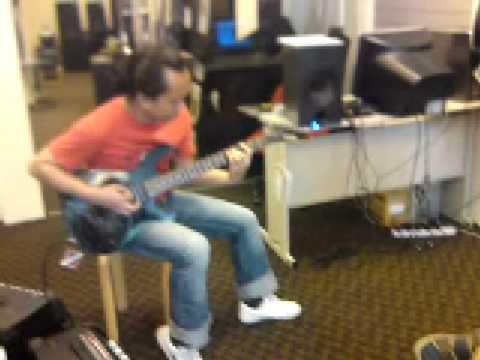 Joe Satriani Cover,Line 6 Spider Amp Test,Jaya (Polar Attraction)  In Action (Ck Music KL)
