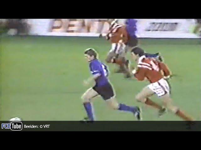 1991-1992 - Beker Van België - 03. 8ste Finale - Club Brugge - Standard 0-1