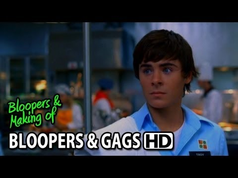 High School Musical 2 (2007) Bloopers Outtakes Gag Reel