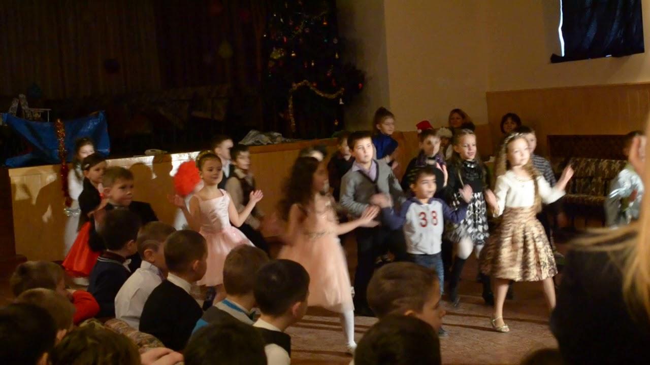1-А класс танец Новый год 2014 г - YouTube